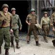 John Goodman, Matt Damon, George Clooney, Bob Balaban et Bill Murray dans le film The Monuments Men.