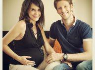 Marion Jollès et Romain Grosjean : Leur fils Sacha est né !