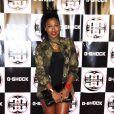 Melanie Fiona assiste à la soirée du 30e anniversaire de la marque de montres G-Shock à New York. Le 7 août 2013.