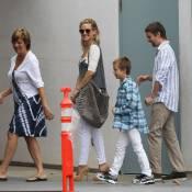 Kate Hudson : Radieuse avec son fils Ryder et Matt Bellamy, sprinters fous !