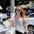 Selma Blair dans les rues de West Hollywood, Los Angeles, le 9 août 2013.