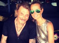 Laeticia et Johnny Hallyday en vacances : Plage et soirée disco avec Jade et Joy