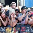 Les fans étaient survoltés, à l'avant-première du film  This is us  des One Direction à Londres, le mardi 20 août 2013.