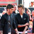Zayn et Louis, à l'avant-première du film  This is us  des One Direction à Londres, le mardi 20 août 2013.