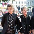 Harry et Niall, à l'avant-première du film  This is us  des One Direction à Londres, le mardi 20 août 2013.