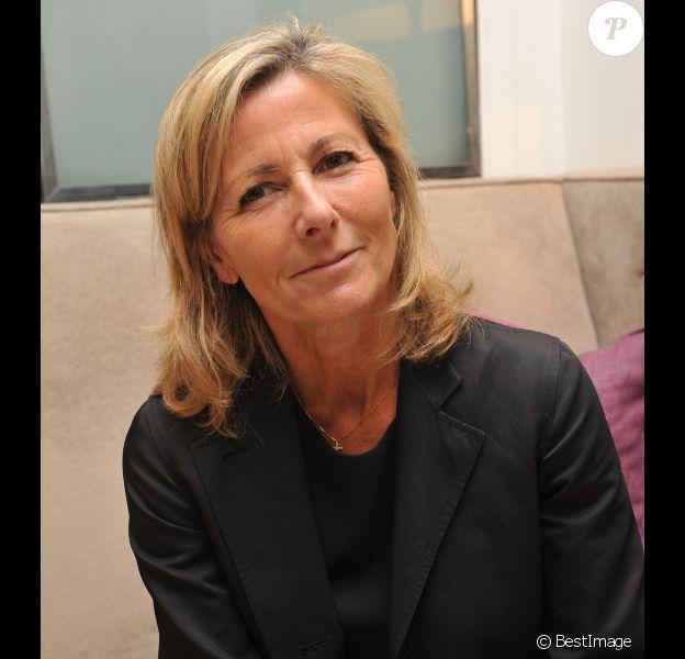 Claire Chazal à Paris, en juin 2013