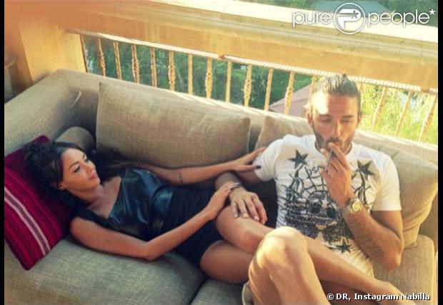 Nabilla et Thomas : moment en amoureux à Los Angeles - Photo sur le compte Instagram de Nabilla