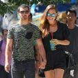 Dimanche 25 août 2013, Jonas Jonas s'offrait une virée dans les rues de New York avec sa jolie chérie Blanda Eggenschwiler.