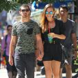 Dimanche 25 août 2013, Jonas Jonas s'offrait une virée à New York avec sa chérie Blanda Eggenschwiler.