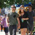 Dimanche 25 août 2013, Jonas Jonas s'offrait une virée dans les rues de New York avec sa chérie Blanda Eggenschwiler.