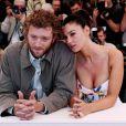 Monica Bellucci et Vincent Cassel au photocall d'Irréversible à Cannes en mai 2002.