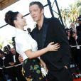 Monica Bellucci et Vincent Cassel en couple à Cannes en mai 2006.