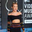 Miley Cyrus lors des MTV Video Music Awards au Barclays Center à New York. Le 25 août 2013.