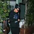 Rihanna quitte le restaurant Giorgio Baldi à Santa Monica. Le 31 août 2013.