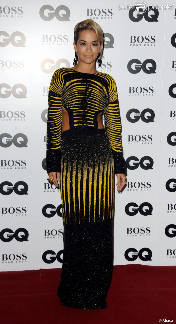 Rita Ora aux GQ Men of the Year Awards à la Royale Opera House de Londres