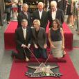 Jane Lynch reçoit son étoile sur le fameux Walk of Fame à Hollywood. Le 4 septembre 2013.