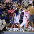 Rafael Nadal a privé Richard Gasquet de finale à l'US Open en le battant (6-4, 7-6, 6-2) en demi-finale à New York le 7 septembre 2013.