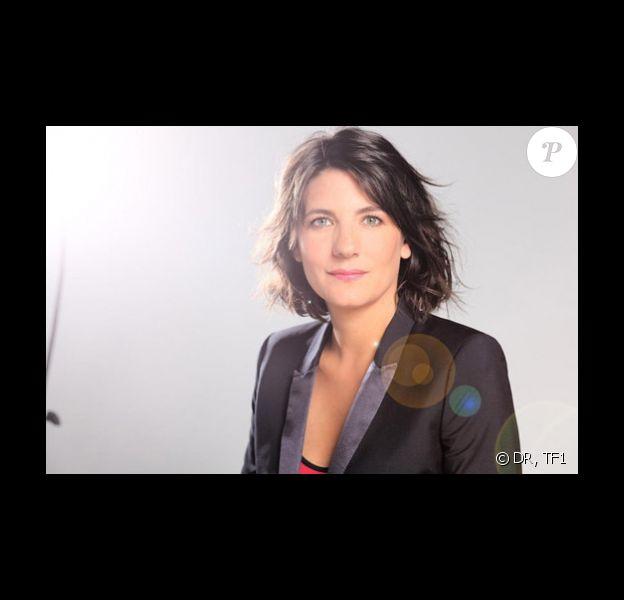 Estelle Denis présente la finale de The Best, sur TF1, le vendredi 13 septembre 2013 à 20h50.