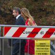 Jean Claude Blanc lors du mariage de l'ancien dirigeant du PSG Leonardo avec Anna Billo à Osnago en Italie, le 7 septembre 2013