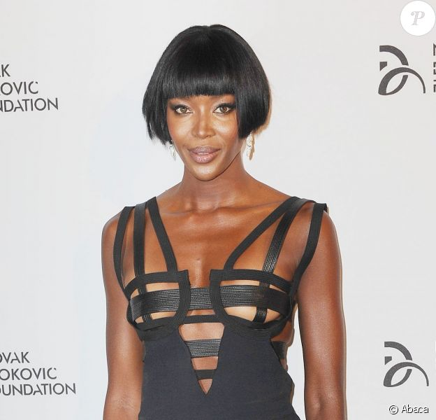 Naomi Campbell assiste au dîner de gala de la Novak Djokovic Foundation au Capitale. New York, le 10 septembre 2013.