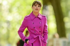 Lea Michele, sublime mais amincie : L'actrice se réfugie dans le travail