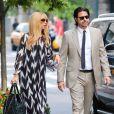 Rachel Zoe et son mari Rodger Berman se promènent dans les rues de New York. Le 11 septembre 2013.