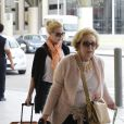 Katherine Heigl et sa mère Nancy, en Louisiane le 4 juin 2013