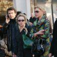 Katherine Heigl avec sa mère à Paris le 17 févirer 2008