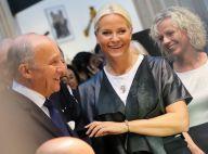 Princesse Mette-Marit à Paris: Amie des arts au Grand Palais avec Laurent Fabius