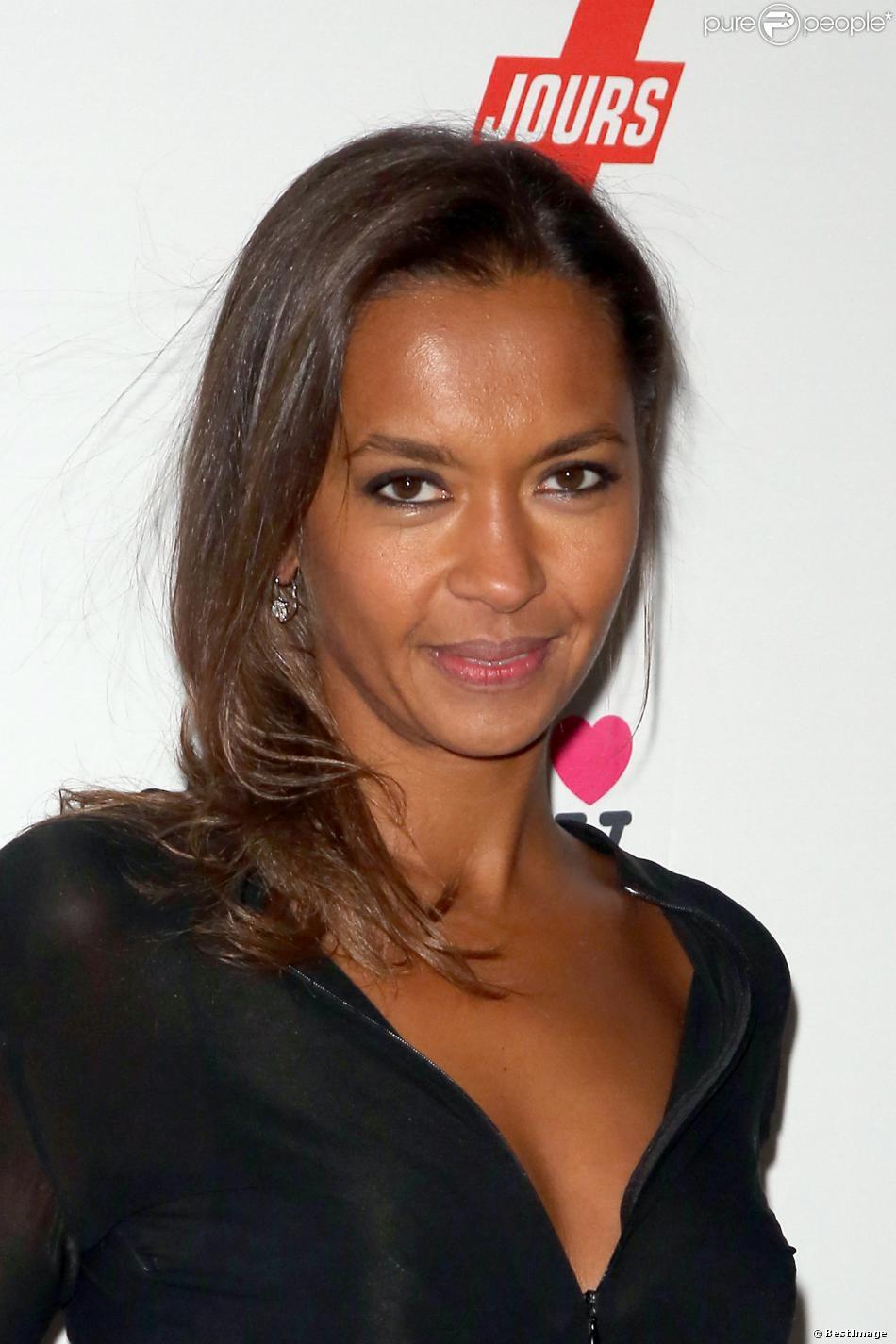 Karine Le Marchand à Paris en décembre 2012.