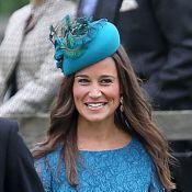 Pippa Middleton de mariage : Sans Kate mais avec William et Harry, elle rayonne