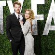 Miley Cyrus et Liam Hemsworth lors de la soirée Vanity Fair post-Oscar Party à Los Angeles le 26 février 2013