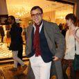 Bertrand Burgalat lors de la Vogue Fashion Night Out 2013. Paris, le 17 septembre 2013.