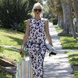 Gwen Stefani enceinte se rend à une baby shower chez ses parents à Beverly Hills, le 14 septembre 2013.