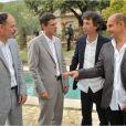 Le quatuor d'amis dans Le Coeur des hommes 3.