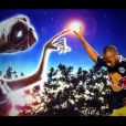 Thierry Henry et son pote E.T