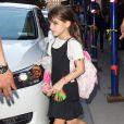 Katie Holmes et sa fille Suri Cruise se baladent à New York, le 20 septembre 2013.