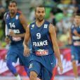 Tony Parker, lors de la demi-finale de l'EuroBasket à Ljubljana face à l'Espagne, le 20 septembre 2013