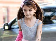 Suri Cruise : Une petite princesse blessée et tatouée au côté de Katie Holmes