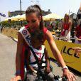 Marine Lorphelin à Saint Malo pour le tour de France en juillet 2013 - Twitter