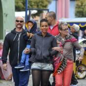 Alicia Keys : Touriste radieuse, pause détente avec son fils Egypt et sa maman