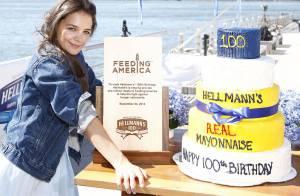 Katie Holmes se la joue ''Dawson'' : Ingénue radieuse pour une marque de mayo