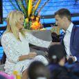 "Pamela Anderson durant l'émission ""Big Brother"" à Berlin le 24 septembre 2013."