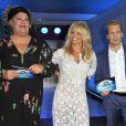 """Pamela Andersondans l'émission """"Big Brother"""" à Berlin le 24 septembre 2013."""