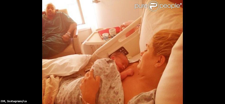 CaCee Cobb, l'épouse de Donald Faison a dévoilé une photo de leur fils, Rocco, daté d'août 2013.