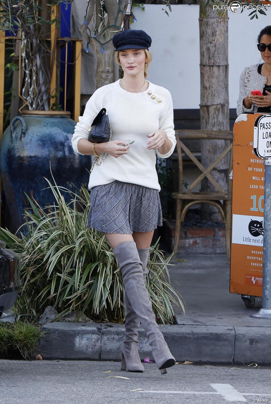 Les bottes, it-shoes de l'hiver et des stars comme Rosie Huntington Whiteley