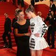 Léa Seydoux (bijoux Chopard) et Adèle Exarchopoulos lors du 66e Festival du film de Cannes, le 23 mai 2013.