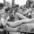 Pia Zadora le 20 mai 1982 lors du Festival de Cannes