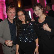 Cécilia Hornus et sa fille, Michèle Laroque élégante pour une soirée rose