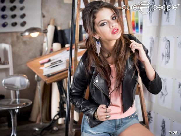 Selena Gomez, ravissante sur la campagne publicitaire automne 2013 de sa collection de vêtements pour adidas NEO.
